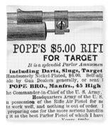 Advertisement: Air Pistol Fleece Blanket