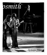 Aerosmith In Spokane 12b Fleece Blanket