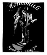 Aerosmith In Spokane 1b Fleece Blanket