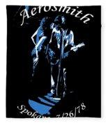 Aerosmith In Spokane 1c Fleece Blanket