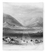 Afghan War 1839-1842. For Licensing Requests Visit Granger.com Fleece Blanket