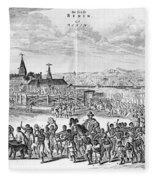 Africa: Benin City, 1686 Fleece Blanket