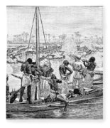 Africa: Pirates Fleece Blanket
