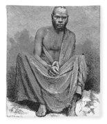 Africa: Yao Chief, 1889 Fleece Blanket