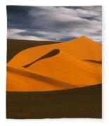 African Dunes Fleece Blanket