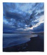 Afterglow On Fire Island Fleece Blanket