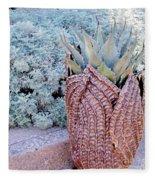 Agave Blues Fleece Blanket