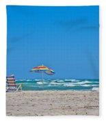 Ahhh Vacation Fleece Blanket