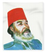 Ahmed Messali Hadj Fleece Blanket