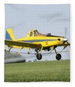 Air Plane  Fleece Blanket