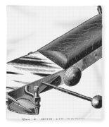 Airbrush, 1886 Fleece Blanket