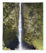 Akaka Falls Iv Fleece Blanket