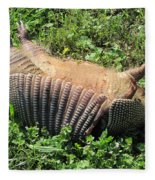 Alabama Road Kill Fleece Blanket
