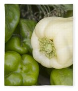 Albino Bullnose Pepper Fleece Blanket