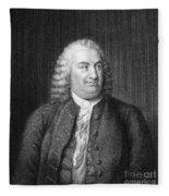 Albrecht Von Haller Fleece Blanket