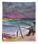 Albufera De Valencia 13 Fleece Blanket