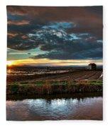 Albufera Rice. Valencia. Spain Fleece Blanket
