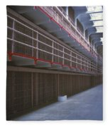 Alcatraz Awaits Fleece Blanket