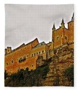 Alcazar De Segovia - Spain Fleece Blanket