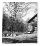Aldergrove Farmhouse Fleece Blanket