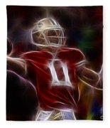 Alex Smith - 49ers Quarterback Fleece Blanket