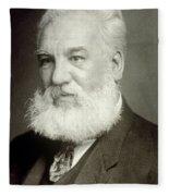 Alexander Graham Bell Fleece Blanket