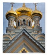 Alexander Nevski Church Fleece Blanket
