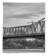 Alexandra Bridge Fleece Blanket