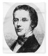 Alfred E. Beach (1826-1896) Fleece Blanket