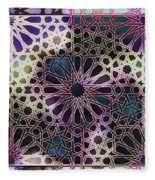 Alhambra Pattern Fleece Blanket