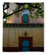 Alhambra Water Tower Doors Fleece Blanket