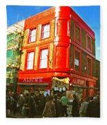 Alice's - London Fleece Blanket