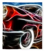 All American Hot Rod Fleece Blanket