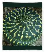 All Coiled Up Fleece Blanket