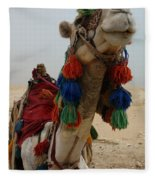 Camel Fashion Fleece Blanket