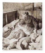 Alligators & Caymans Fleece Blanket
