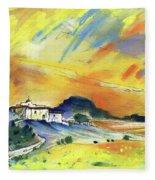Almeria Region In Spain 03 Fleece Blanket
