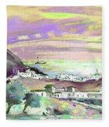 Almeria Region In Spain 04 Fleece Blanket