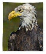 Almost There - Bald Eagle Fleece Blanket