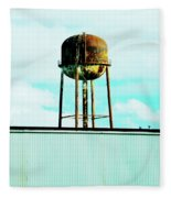 Along Highway 61 Fleece Blanket