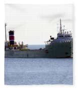 Alpena Ship Fleece Blanket