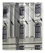 Alte Bibliothek Fleece Blanket