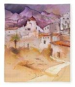 Altea La Vieja In Spain 11 Fleece Blanket