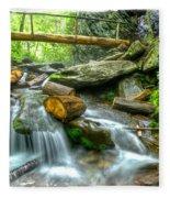 Alum Cave Bluff Trail Fleece Blanket