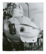 Alvin, Deep Sea Ocean Research Vessel Fleece Blanket