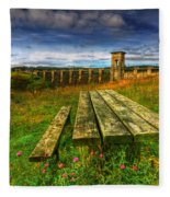 Alwen Reservoir Fleece Blanket