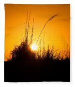 Amber Waves Fleece Blanket