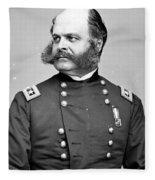 Ambrose Burnside, Union General Fleece Blanket