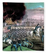 American Civil War, Capture Of Atlanta Fleece Blanket