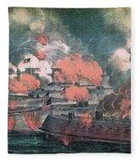 American Civil War, Great Fight Fleece Blanket
